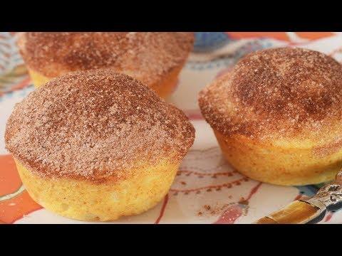 Doughnut Muffins Recipe Demonstration - Joyofbaking.com