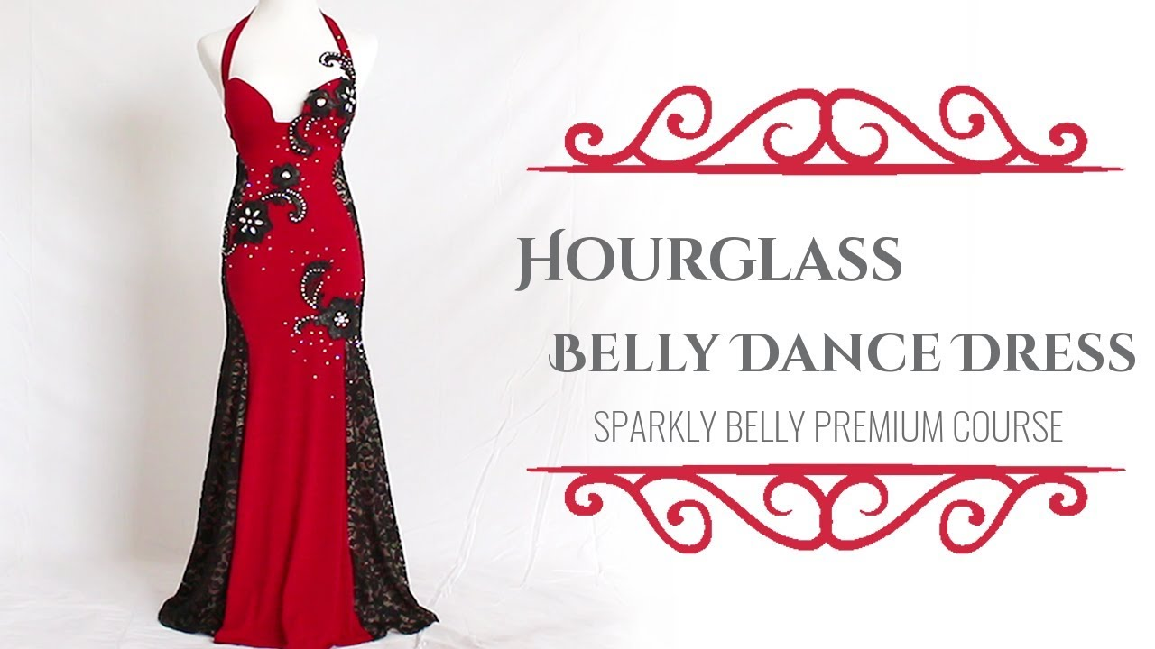 Make your own belly dance dress! - Sparkly Belly\'s Premium Course ...
