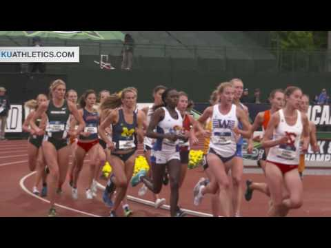 Lokedi Claims 6th in 10k at NCAA Championships // Kansas Track and Field // 6.9.16