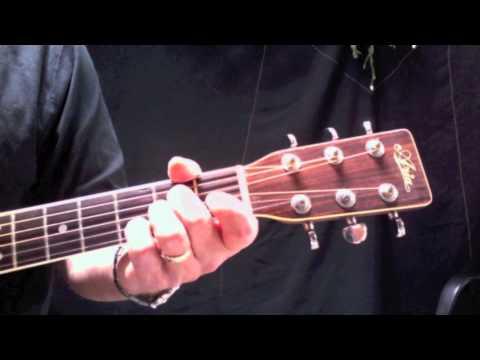 CALIFORNIA DREAMIN' - Guitar Lesson