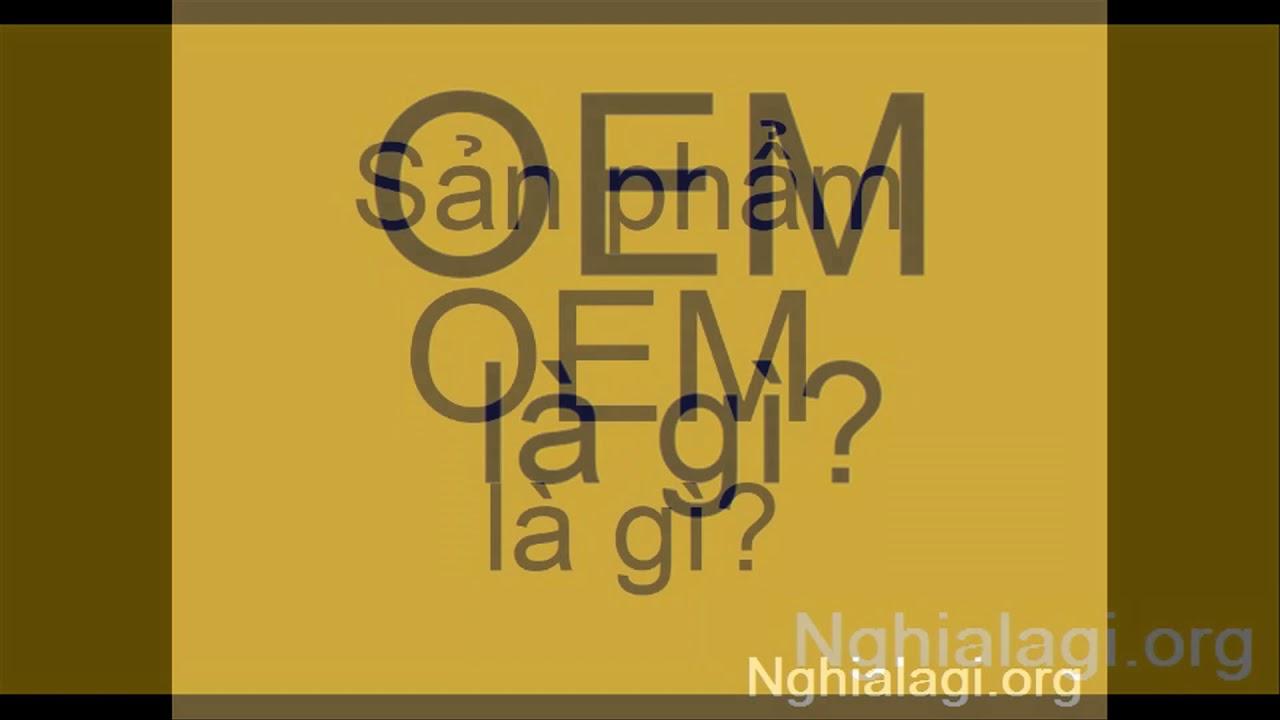 OEM là gì? Những ý nghĩa của OEM – Nghialagi.org