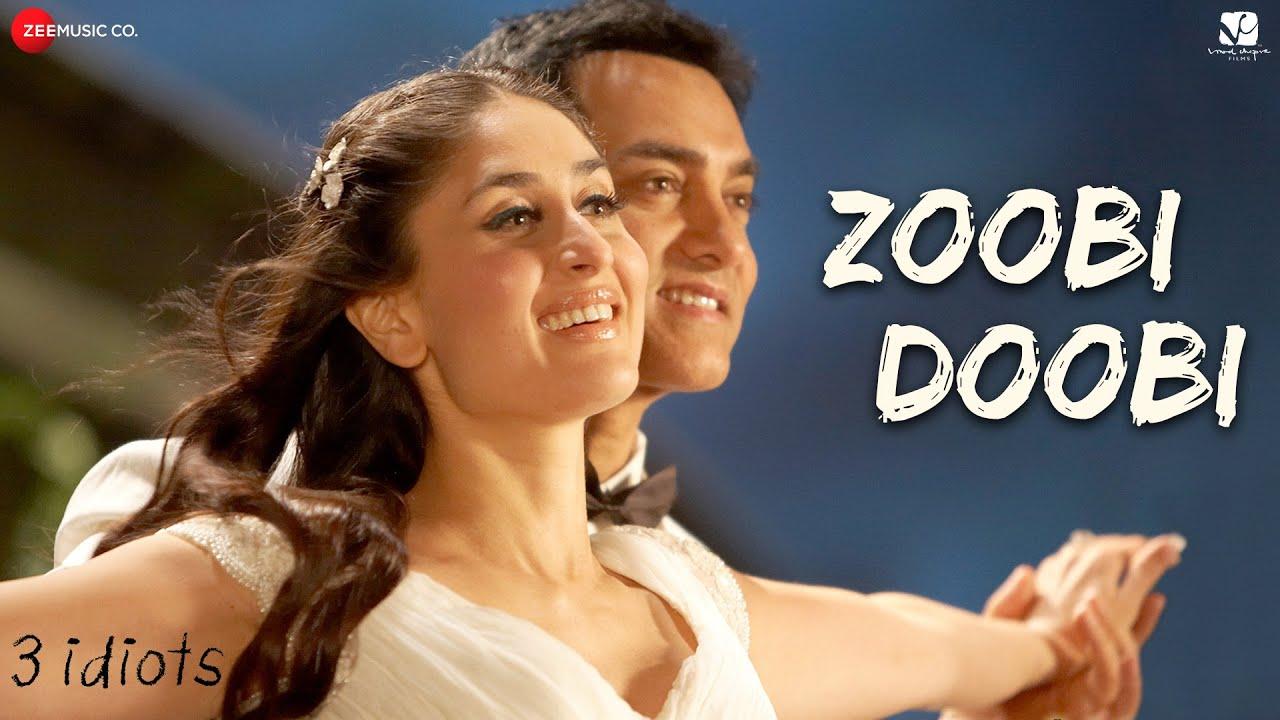 Zoobi Doobi - 3 Idiots   Aamir Khan & Kareena Kapoor  Sonu Nigam,Shreya Ghoshal Shantanu M,Swanand K
