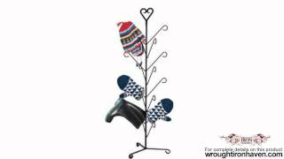 Christmas Winter Mitten Dryer- Holiday Boot Rack - Star Angel Snow Flake Heart Snowman