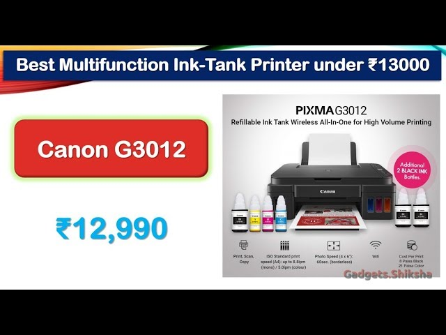 Best Ink Tank Printers in India: Print in Color at 10 Paisa