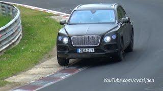 Bentley Bentayga Testing on the Nurburgring Again