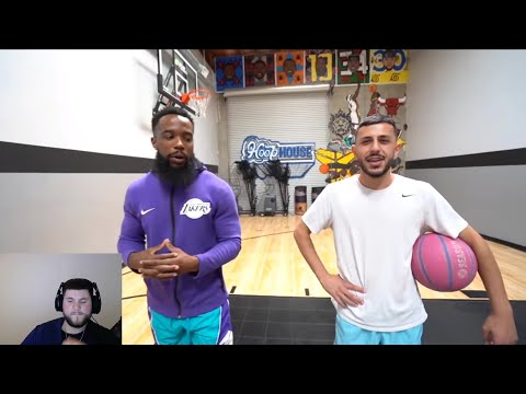 Cash vs Brawadis 1v1 Rivalry Basketball Game! First Reaction Video