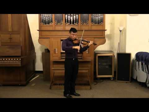 Luke Hsu plays Paganini Caprice Op. 1 No. 7