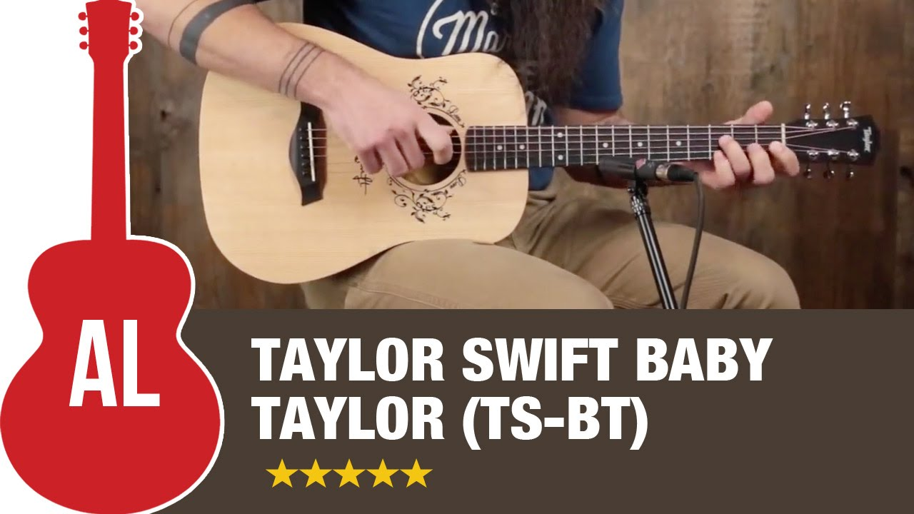 Taylor Swift Baby Taylor Ts Bt Review Youtube