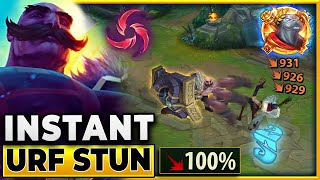 Hail of Blades Makes Braum INSTANTLY STUN Anyone