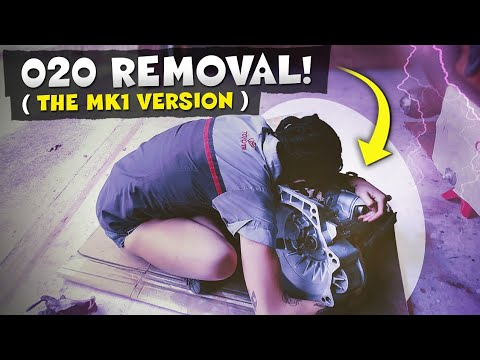 Part 1: How to remove an O2O transmission from your Mk1 VW, and a lot of other random information!!