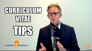 Curriculum Vitae tips: Zo word je uitgenodigd voor een Sollicitatiegesprek
