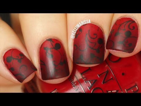 Vampire Nail Art Design DIY Tutorial    KELLI MARISSA - Vampire Nail Art Design DIY Tutorial  KELLI MARISSA - YouTube
