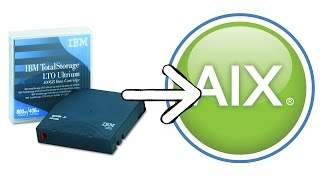 How to backup, boot and restore an AIX system from a tape backup? - part 2