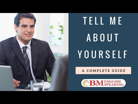 How to Answer - Tell me about yourself | Clear Any Interview Part 3