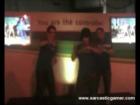 Sarcastic Gamer UK Staff on Dance Central at Eurogamer Expo 2010