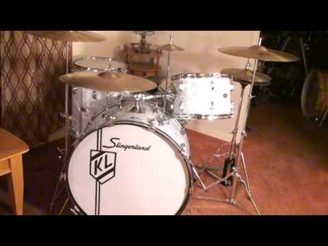 Buddy Rich Slingerland Drums-The Two Versions 1968 & 1976