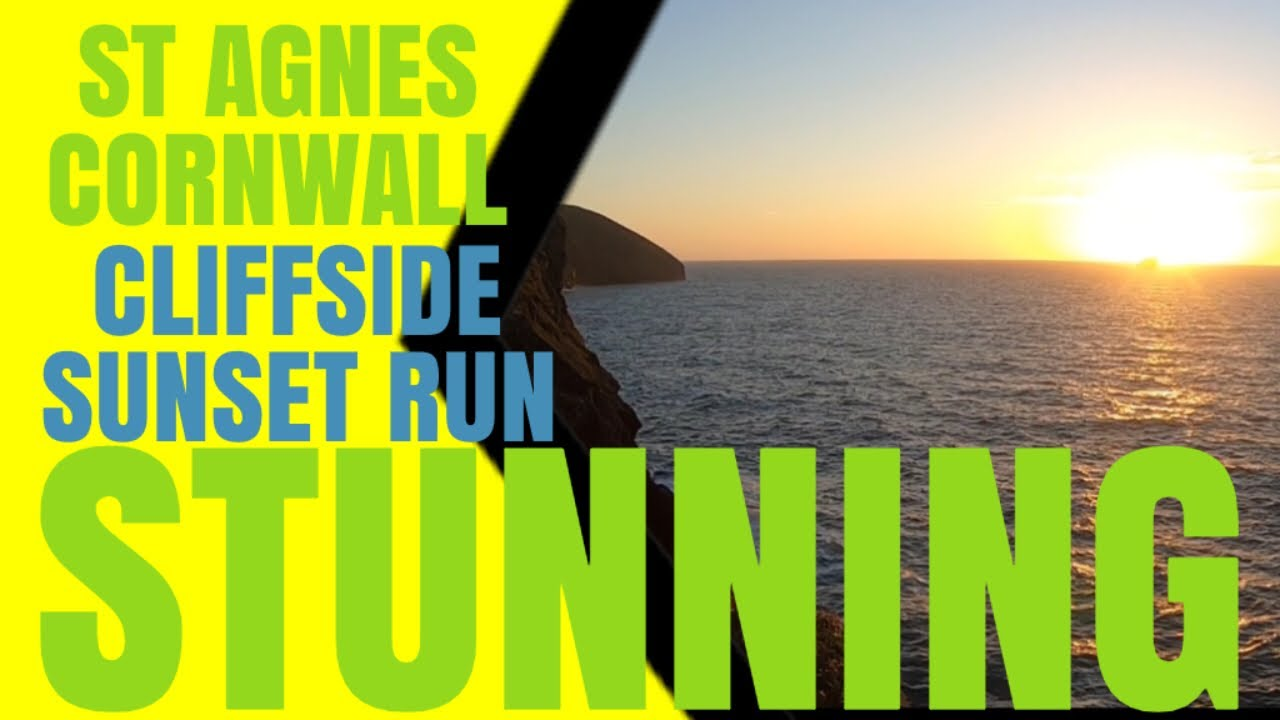 Sunset Cliffside Run | St Agnes, Cornwall