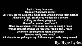 Moneybagg Yo & Yo Gotti - Doin 2 Much (Lyrics)