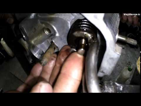 ремонт головки блока цилиндров  Chery Amulet