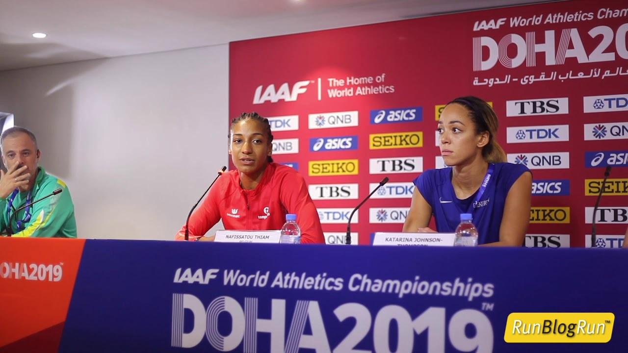 Doha WC 2019 - Women's Heptathlon Press Conference