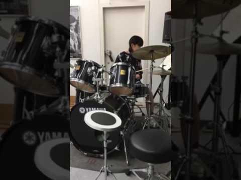 【中学二年14歳  ANRI】 ドラム女子③