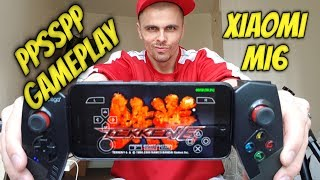 Xiaomi Mi6 PPSSPP gameplay PSP games Snapdragon 835/Adreno 540(Android emulator)+Settings