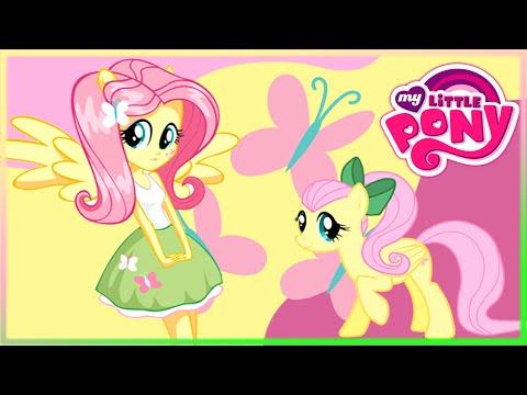 💫 MLP Fluttershy VS Pony Human Fun Game