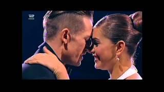 Stephania & Morten danser Tango og Twist - Vild Med Dans 2015 semifinale