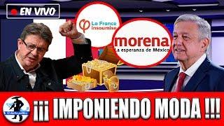 Lider De Izquierda Frances Le Propone Amlo Llevarse Morena a FranciaEuropa Estudia Amlo En ...