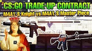 CS:GO 4x Trade-Up Contract - M4A1-S Knight vs. M4A1-S Master Piece