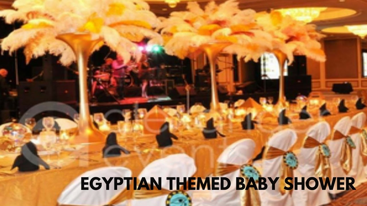 Egyptian Themed Baby Shower