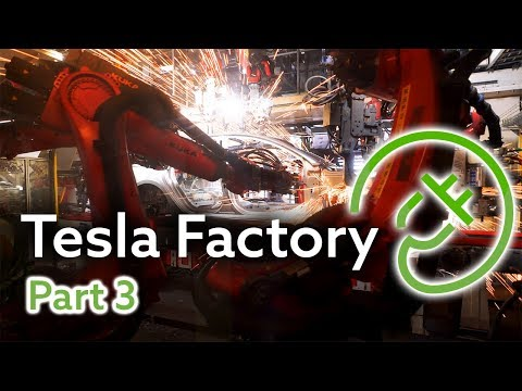 Tesla Fremont Factory Tour, Part 3 — The Body Shop and General Assembly 3