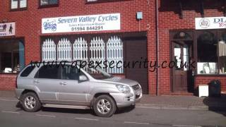 Apex Security Grilles and Shutters