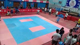 Mayuresh Gujare Kick Boxing Fight In Kathmandu, Nepal