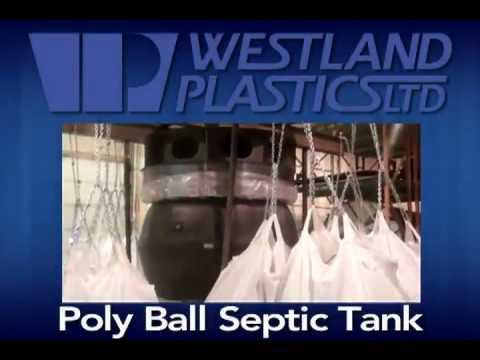 The New Poly Ball Septic Tank by Westland Plastics
