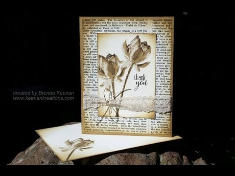 """Vintage """"Thank You"""" card"""