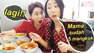 Jam 10 pagi aja makan 5 mangkok Seblak..