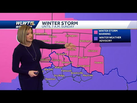 Snow Blankets Cincinnati: What To Expect This Weekend