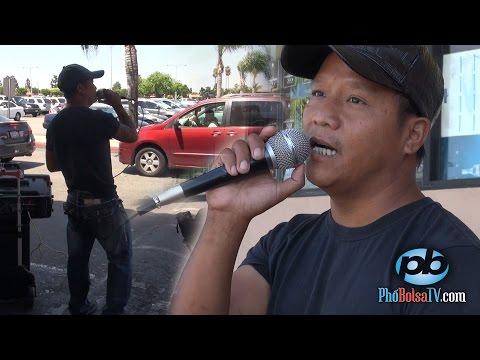 """Ca sĩ đường phố Bolsa: """"Việc làm này không có xấu. Không ăn cắp của ai."""""""