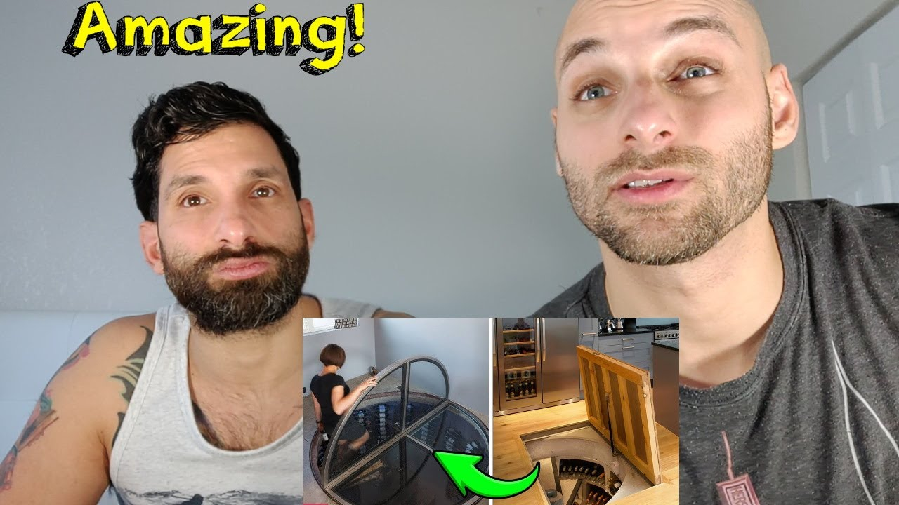 AMAZING Hidden Rooms and SECRET Furniture REACTION - YouTube