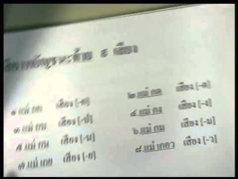 ปี 2556 วิชา ภาษาไทย ตอน วิเคราะห์ข้อสอบ (หลักภาษาไทย) ตอนที่ 2
