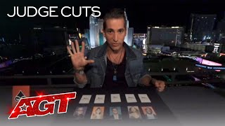 Woah! Mentalist Max Major Reads Simon Cowell's Mind?! - America's Got Talent 2020