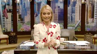 Kelly Ripa Thanks Her Guest Co-Hosts