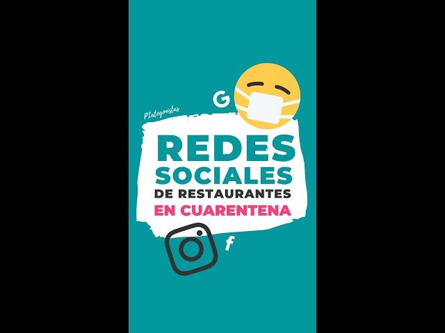 Gestiona redes sociales de tu restaurante durante la cuarentena del coronavirus | Gastro Marketing