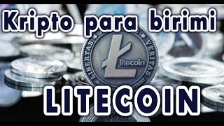 Litecoin (LTC) kripto para birimi (türk)