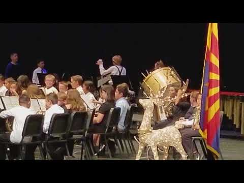 Sahuarita Intermediate School Band Winter Concert