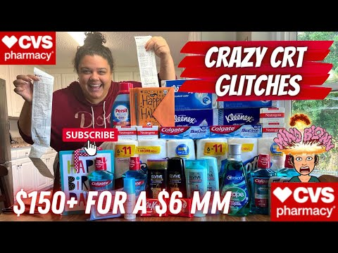 CVS COUPONING THIS WEEK || INSANE CRT GLITCHES, HOT MONEYMAKERS + HOW I GOT $150 FOR A MONEYMAKER!