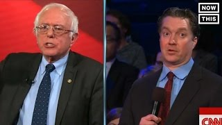 Bernie Sanders Argues With Small Business Owner At CNN Town Hall | NowThis