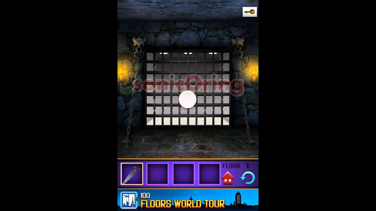 100 Floors The Castle Level 1 Walkthrough Youtube
