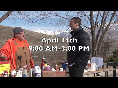 Utah County Household Hazardous Waste Collection Day 2018